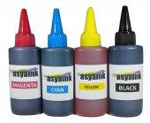 Asyaink Bitmeyen Tanklı Yazıcılar İçin 4 Renk 400ml Mürekkep 4x10