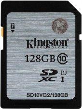 Kingston 128gb Sd Sdxc Class 10 Hafıza Kartı 45mb S Sd10vg2 128gb