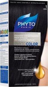 Phyto Color 1 Noir (Siyah) Bitkisel Saç Boyası