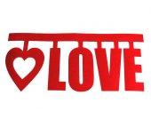 Keçe Love Yazısı