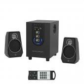 Frisby Fs 6200 2+1 Usb Sd Girişli Kumandalı Ses Sistemi Hoparlör Speaker