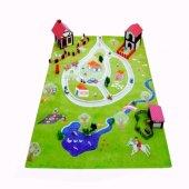 Ivi Çocuk Odası Oyun Halısı Çiftlik 134x180