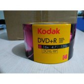 Boş Dvd Kodak Dvd+r 16x 4.7 Gb 50li Value Pack