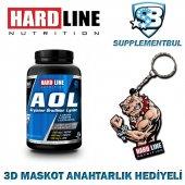 Hardline Aol 120 Kapsül + 3d Maskot Anahtarlık Hediyeli
