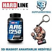 Hardline Arg 1250 120 Kapsül + 3d Maskot Anahtarlık Hediyeli