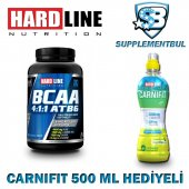 Hardline Bcaa 4 1 1 Atb6 120 Tablet + Carnifit 500 Ml Hediyeli