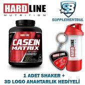 Hardline Casein Matrix Çikolata 1800 Gr. + 1 Shaker + 1 3d Logo A