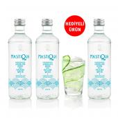 Mastiqua 2+1 Adet Hediyeli Mastiqua Sparkling Drink, Mastiqua Soda, 330 Ml
