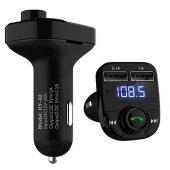 Yeni Sürüm Bluetooth 4.0 Araç Kiti Car X8 Fm Transmitter