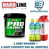 Hardline Progainer Çikolata 5000 Gr. + 1 Shaker + 2 Carnifit 500