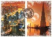 Dünyayı Dolaşmak Dubai (Grafika 1000 Parça Puzzle)
