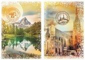 Dünyayı Dolaşmak Avusturya Ve İsviçre (Grafika 1000 Parça Puzzle)