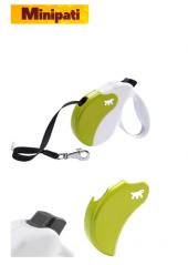 Ferplast Amigo M Tape Yeşil Renk Otomatik Köpek Gezdirme Kayışı