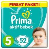 Prima Aktif Bebek No 5 Junior 52 Adet Bebek Bezi
