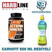 Hardline Vitamin Mineral 120 Tablet + Carnifit 500 Ml Hediyeli