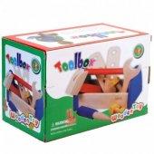Ahşap Çantalı Tamir Seti Eğitici Ahşap Oyuncaklar Wooden Toys