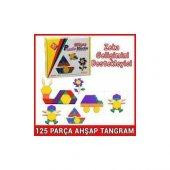 125 Parça Ahşap Tangram Eğitici Ahşap Oyuncaklar Wooden Toys Blok