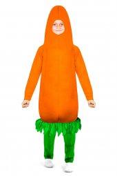 Havuç Kostümü Çocuk Kıyafeti