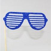 Parti Gözlüğü Simli Lacivert 14 Cm
