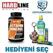 Hardline Vitamin Mineral 120 Tablet + Hediyeni Seç