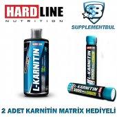 Hardline L Karnitin Sıvı 1000 Ml + 2 Adet Karnitin Matrix 30 Ml H