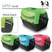 Mp Gipsy Metal Kapılı Kedi Ve Köpek Taşıma Kafesi 46 X 31 X 32 Cm