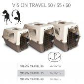 Mp Vision Travel 60 Kedi Köpek Taşıma Kafesi 59 X 39 X 41 Cm