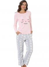 özkan 23537 Welsoft Kadın Pijama Takımı