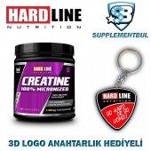 Hardline Kreatin Creatine 100 Micronized 300 Gr. + 3d Logo Anaht