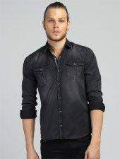 Eg 1516 Siyah Gömlek