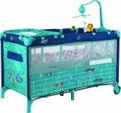 Sunny Baby 624 Siesta 60x120 Park Yatak Mavi