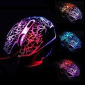 Gamıng Mouse Laser Kablolu Oyuncu Mouse Işıklı Renkli Ledli