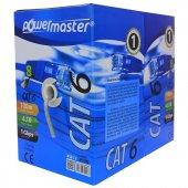 Powermaster Cat6 24 Awg Ethernet Kablosu 100 Metre, Lan Kablo