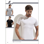 Erdem 1122 Pamuk Elastan Sıfır Yaka Erkek T Shirt Fanila