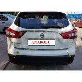 Nissan Qashqai Formlu Krom Bagaj Alt Çıtası 2014 Ü...