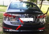Hyundai Elantra Formlu Krom Bagaj Alt Çıtası 2011 ...
