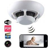 Duman Dedektör Özellikli Ip Güvenlik Kamerası