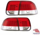 Honda Civic 1998 2000 Ledli Stop Ek Kasa Sağ Sol Takım Kırmızı Beyaz