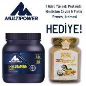 Multipower L Glutamine Powder 500 Gr. 1 Hediye