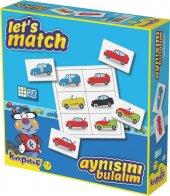 Kırkpabuç Eğitici Oyun 4 Kart 24 Pcs Aynısını Bulalım Arabalar