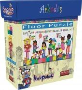 Kırkpabuç Floor Puzzle 45 Pcs Birçok Arkadaşımız Olabilir Many