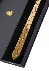 Gold Renk Pleksi Kravat Plk3663