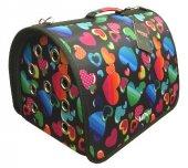 Lepus Flybag Kedi Köpek Taşıma Çantası Kalp 25*35*40 Cm