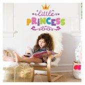 Küçük Prenses 90x64 Cm. Duvar Sticker