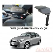 Autoen Renault Symbol 2 Sedan 2008 2012 Kol Dayama Kolçak Gri Delme Yok
