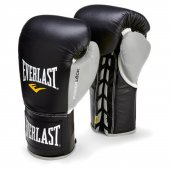 Everlast Powerlock Velcro Antrenman Boks Eldiveni 2272 Red Grey