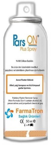 Pars On Plas Sprey 50ml Flaster Sökücü Sprey