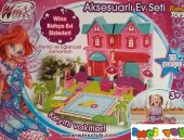 Furkan Toys 15 Parça Winx Aksesuarlı Villa Seti 6396