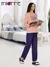 Miorre Bayan Pijama Takımı Somon