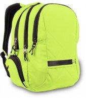 Alone 8561 Neon Yeşil 15,6 Laptop Bölmeli Sırt Çantası